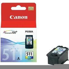 CARTUCCIA ORIGINALE CANON CL-511 COLORE MX420 CL 511 CL511 2972B001