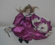 """11"""" Victorian Porcelain Hand made doll Kimberly 84"""