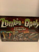 Zombie-Opoly Monopoly Style Living Dead Undead Board Game NEW SEALED Halloween