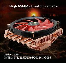Cpu Radiator Pure Copper Scale AXP-100 C65 + Fan 6 Heat Pipe High 65MM INTEL/AMD