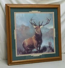 """Home Interior Homco """"Monarch of the Glen"""" Picture"""" About the Picture Included"""""""