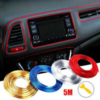 5M Adhesive Strips for Car Interior Decoration Molding Styling Auto Accessory FL