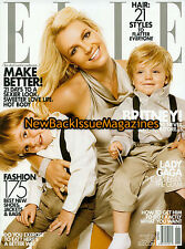 Elle 1/10,Britney Spears,Cover 1 of 2,January 2010,NEW
