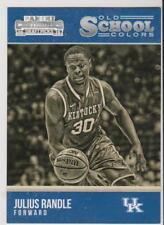 2015 Panini OSC #16 Julius Randle college card, New Orleans Pelicans