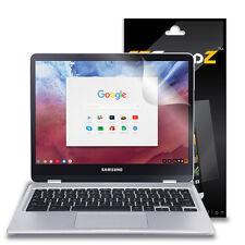 2X EZguardz Clear Screen Protector Shield HD 2X For Samsung ChromeBook Plus 12.3