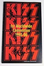 KISS Signed Autograph Tour Program Book by all 4 Paul Stanley, Gene Simmons, +