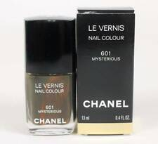 Chanel 601 Mysterious  Le Vernis Nail Colour New In Box Khaki Olive Green