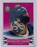 JOHN GARRETT 17/18 Leaf Masked Men Insert Card #13 Prismatic Pink Wave #d 2/6 SP