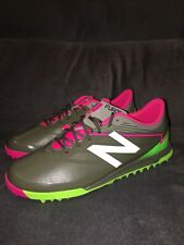 New Balance Unisex Furon Dispatch TF Soccer Shoe Green Gray Pink Boys Size 6