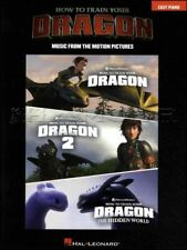 How to Train Your Dragon Collection Easy Piano Music Book SAME DAY DISPATCH