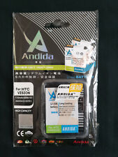 HTC BB96100 1750mAh High Capacity Battery by Andida A7272 Desire Z G2 Vision UK