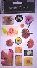 Dovecraft Cristal efectos Foto Flor Embelishments tarjetas colección de recortes
