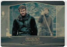 GAME OF THRONES VALYRIAN STEEL - GOLD PARALLEL METAL BASE CARD 33 (013/100)