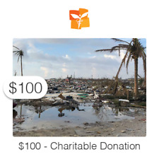 $100 Charitable Donation For: Medicine Needed - Hurricane Dorian Survivors