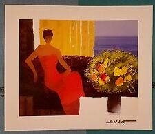 "Emile Bellet ""Interieur"" Artwork Certificate Park West"