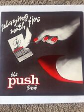 "RARE PRIVATE METAL GLAM 45-W/PS  THE PUSH BAND ""PLAYING WITH FIRE""  NM  HEAR!"