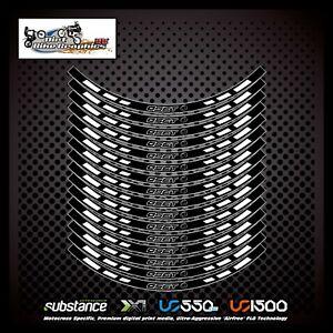 Oset 16 Inch Rim Tapes Black Decal Sticker Trials (701)