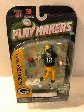 2012 Playmakers Todd McFarlane Toy Aaron Rodgers Football Green Bay Packers MOC