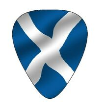 10 Scottish ~ Scotland  Flag ~ Guitar Picks ~ Printed Both Sides