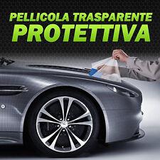 Pellicola ADESIVA PROTETTIVA TRASPARENTE antigraffio auto moto carrozzeria