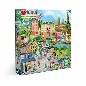 eeBoo 1000 Pc Puzzle – Copenhagen Kids Puzzle Family Puzzle 04140