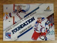 2011-12 Pinnacle Foundation Tandems East #6 Henrik Lundqvist/Derek Stepan