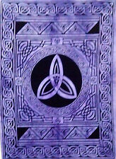 Purple Color Celtic Sign Cotton Tapestry Poster Handmade Fabric Indian Hippie