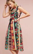 """Anthropologie """"Saskia Embroidered Dress""""--8"""