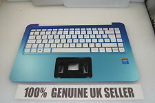HP Stream 11-d BLUE Palmrest and UK Keyboard 794447-001