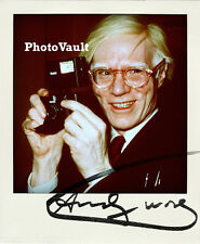 Andy Warhol Signed 8x10 Photo Reprint Autographed RP