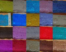 50-250 cm Spitze Polyester Spitzenband elastisch 29 Farben Spitzenborte 8 cm