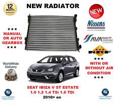 FOR SEAT IBIZA V ST ESTATE 1.0 1.2 1.4 TSi 1.6 TDi 2010> NEW RADIATOR OE QUALITY