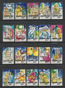 Netherlande 2000 Noel Oblitéré
