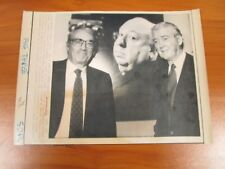 Vtg Wire AP Press Photo Gregory Peck & Jimmy Stewart, Alfred Hitchcock Benefit