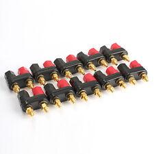 10PCS Terminal Binding Post Power Amplifier Dual 2-way Banana Plug Jack New