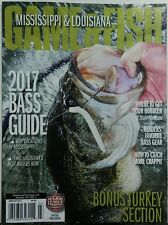 Mississippi Louisiana Game & Fish March 2017 Bass Guide Turkey FREE SHIPPING sb