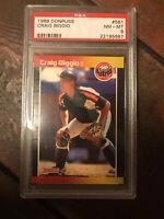 1989 Donruss #561 Craig Biggio RC Graded PSA 8 - HOF - Houston Astros