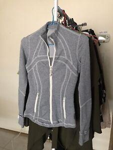 Women's Lululemon Define Jacket Grey Size 4