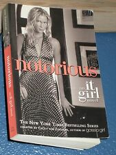 Notorious by Cecily Von Ziegesar (IT GIRL) FREE SHIPPING 031601186X