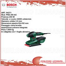 BOSCH-V LEVIGATRICE ORBITALE PSS200AC 200W ART. 94271