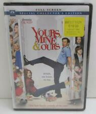 brand new sealed YOURS, MINE & OURS full screen dvd DENNIS QUAID family comedy