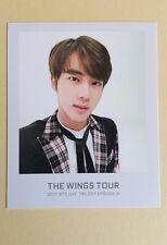 2017 Bangtan Boys BTS THE WINGS TOUR Official Ticket Album Photocard Jin