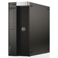 Dell Precision T3610 Desktop Workstation Xeon E5-1620 32GB Ram 240GB SSD 2TB HDD