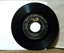 PAUL ANKA LONELY BOY / YOUR LOVE 45 RPM RECORD