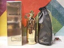 MONTALE PURE GOLD EAU DE PARFUM 3.4 OZ / 100 ML NEW IN BOX, SEALED