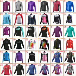 Women Breathable cycling jersey New Long sleeve bike shirt bicycle Sport Uniform
