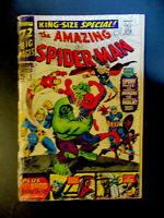 Marvel Comics Amazing Spiderman # 3 King Special 1966 Vintage Old Comic Book