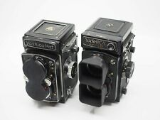Yashica Mat 124G TLR (6X6) Dual Hood & Cap (does not include camera)