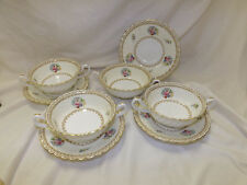 Buy up to 2 Sets of 4 Minton China Kilworth Cream Soup Cups & Saucers