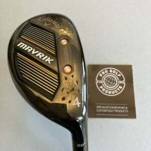 Callaway Mavrik No 4 Hybrid with Project X Catalyst 65g Reg Flex Shaft